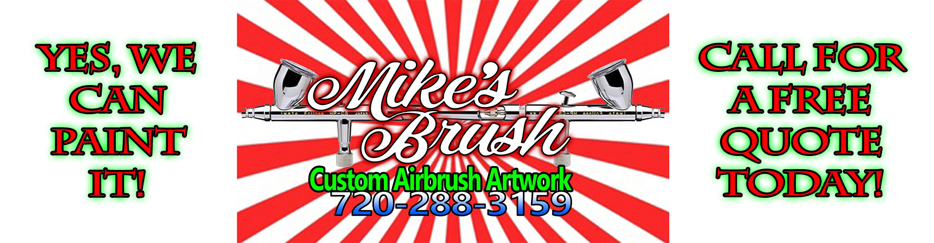 Mikes Brush Airbrush Art On Any Surface